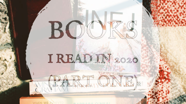 Books I Read in 2020 (Part One)