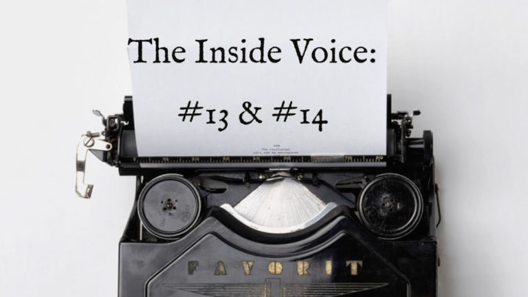 "The Inside Voice #13 – ""Loud Soul"" and The Inside Voice #14 – ""Cat's Mind"""