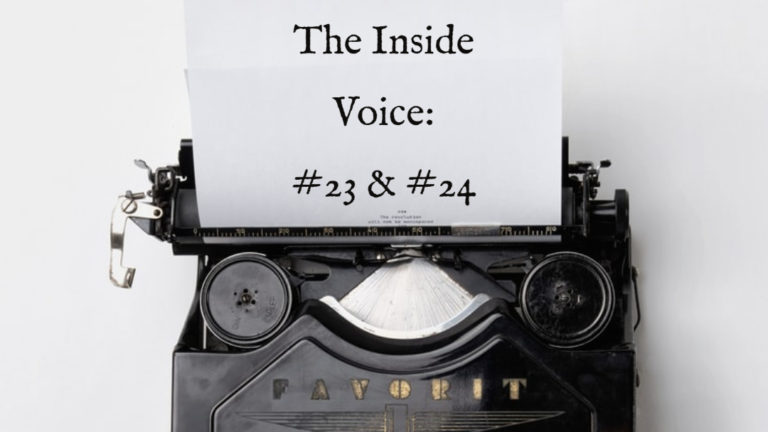 "The Inside Voice #23 – ""Bodies"" and The Inside Voice #24 – ""A Hand"""